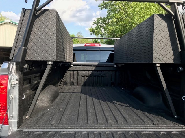 Custom Side Box Powder Coated Black 4