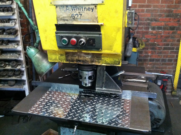 Punch Process-Tool Box Manufacturing