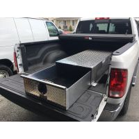 sliding truck bed storage