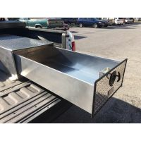truck bed sliding tool box