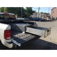 sliding drawer truck tool box