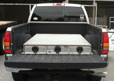 sliding truck tool box