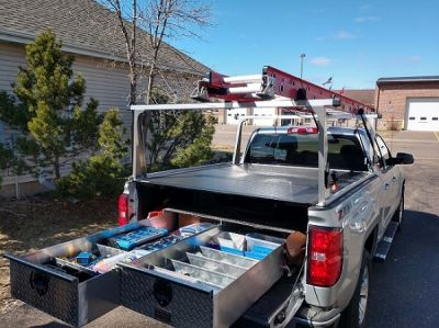 Truck Tool Box with Drawers