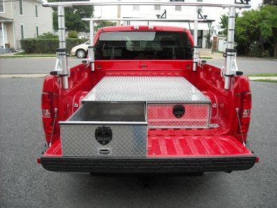 truck bed box with drawers