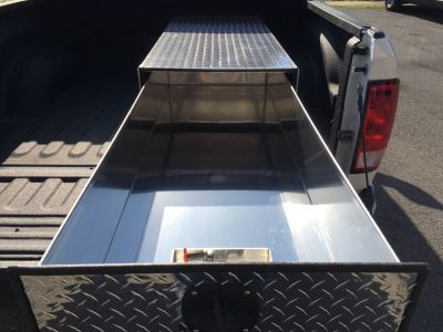 narrow truck tool box
