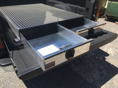 pull out drawer truck tool box