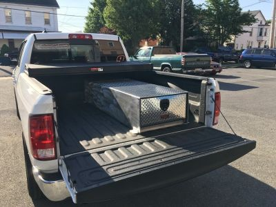 narrow truck tool box
