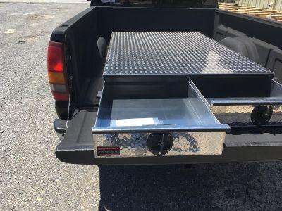 truck box storage drawers