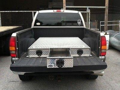sliding drawer truck box