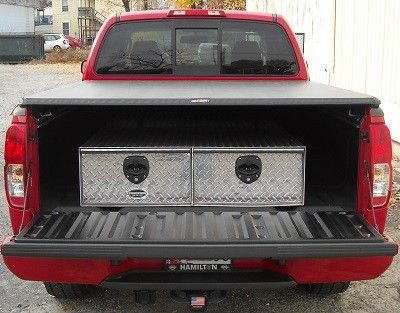 truck bed tool box with drawers