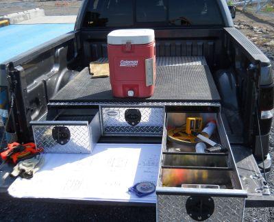 truck box drawers