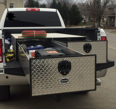 pull out truck tool box